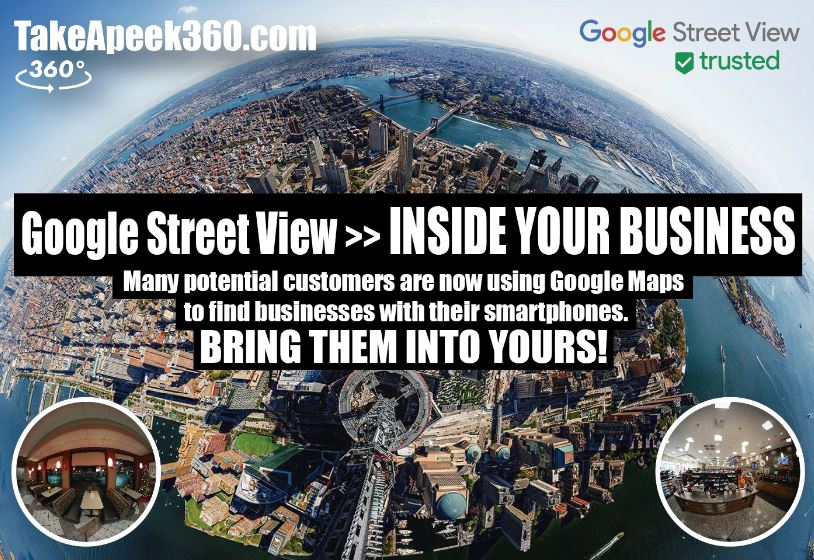 TakeApeek360 Google Street View